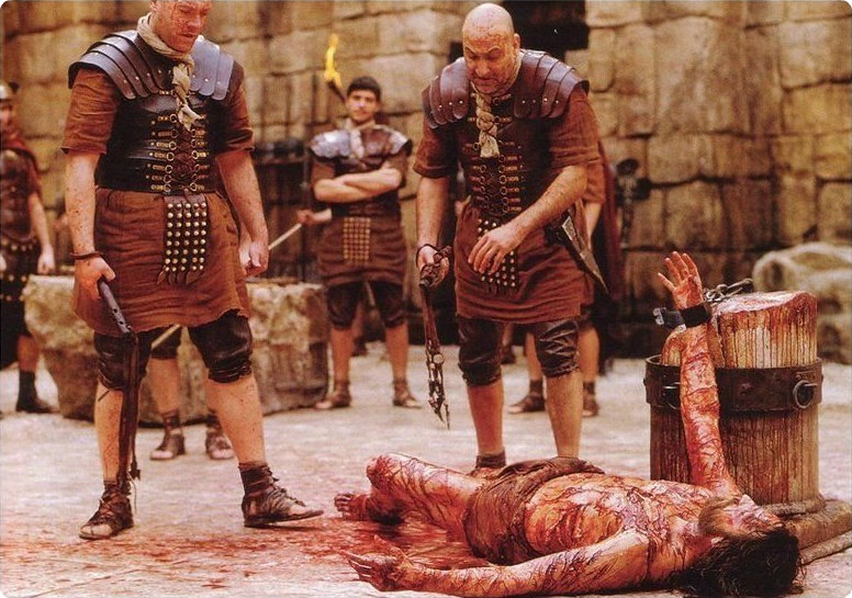 The Flagellation of Christ, from the movie 'The Passion of Christ'